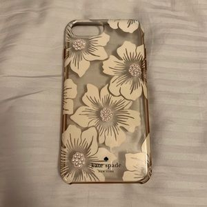 Kate Spade iPhone 7 Plus Flower Case